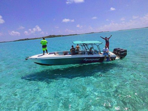 Enjoying the open water