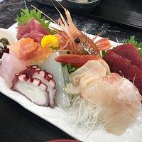 刺身定食1500円