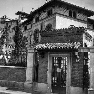 Villa Fossati (Villa Triste) in Milano, via Paolo Uccello