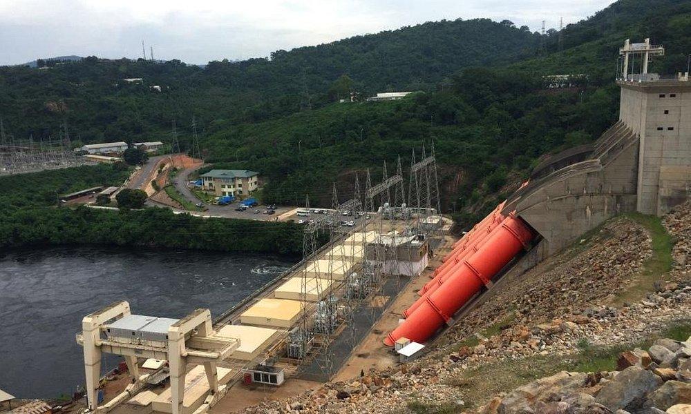 Akosombo Hydro-electric station, Volta region, Ghana