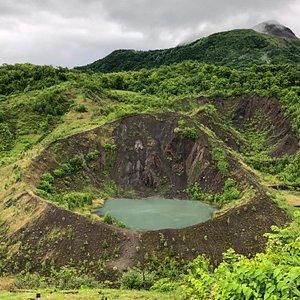 Usuzan West Crater