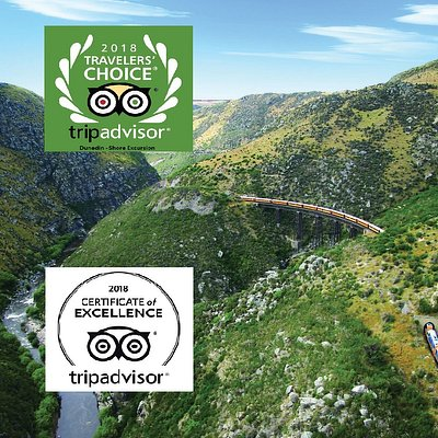 Taieri Gorge Train - Shore Excursion Dunedin (Travellers Choice 2018 award)