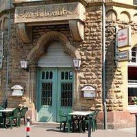 Eingang zu dem eigentlich historischen Restaurant