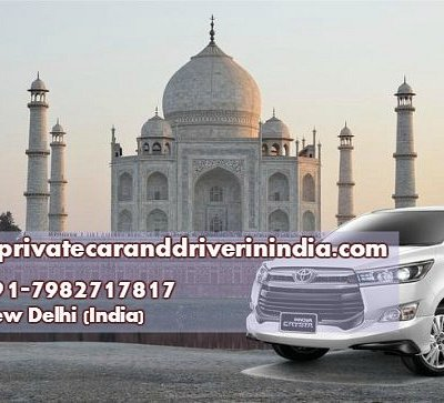 Toyota Innova SUV for Taj Mahal tour India