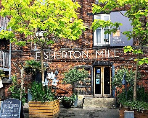 Fisherton Mill Courtyard in June 2018