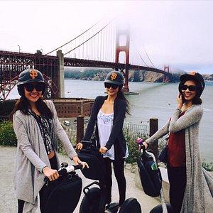 segway san francisco Golden Gate Bridge
