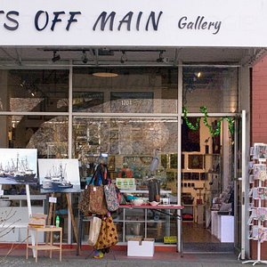 Art and gifts by local artists and artisans.