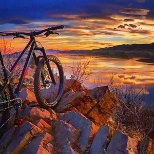 Horsetooth Reservoir Sunset, ...unreal