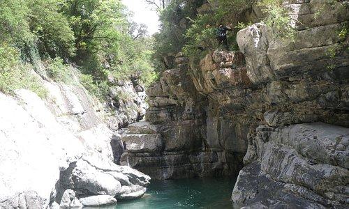 Canyon du Miraval en Espagne