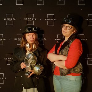 photoshoot after the escape room adventure