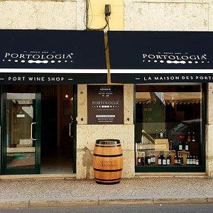 Portologia Lisboa, La Maison des Porto - La façade