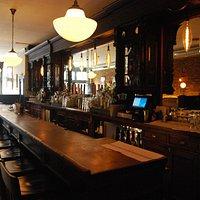 1880s Mahogany Bar