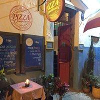 Entrada Pizza Candelaria