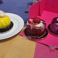 Baptême gâteau et paques