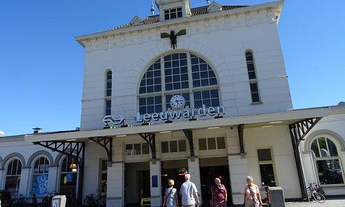 Station Leeuwarden uit 1863 van architect K.H.van Brederode