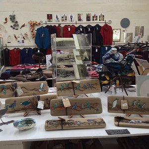 Another view of the great space we have to display NZ made gifts.