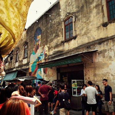 George Town is a city with history and culture. It's a great place to eat and explore with a hos