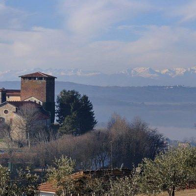 Castello di roppolo Lago e Alpi