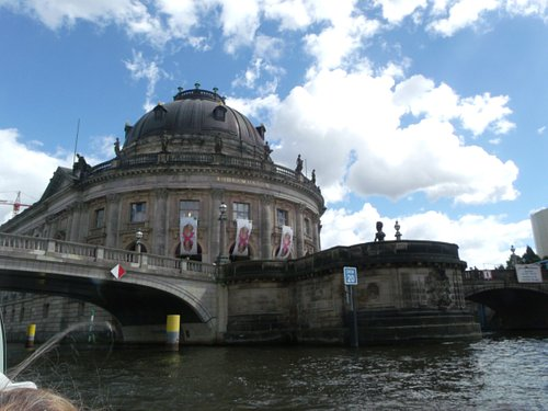 The corner of the Museum Island - seen from a different angle