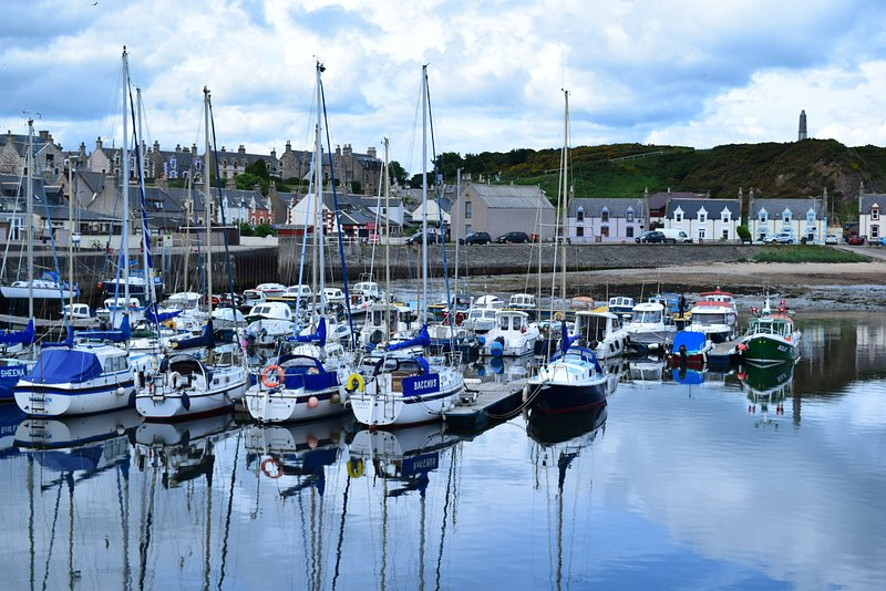 Findochty Harbour.