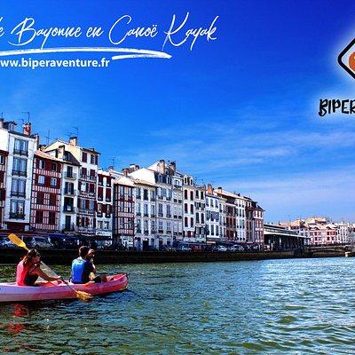 Ballade à Bayonne en Canoë kayak (Pays Basque & proche des Landes)