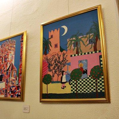 Dos obras pictóricas pertenecientes a Juan Carrero (Los Costus)