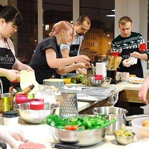 Кулинарные мастер-классы и праздники в СПб