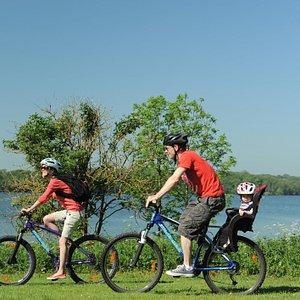 Traffic-free cycling at Rutland Water