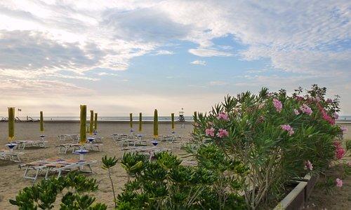 spiaggia & natura alla Bau Beach Caorle (spiaggia di levante)