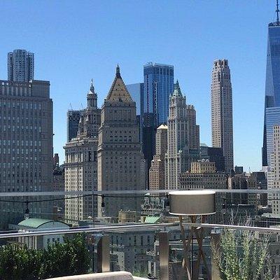 Financial district view