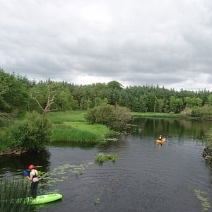 We offer kayaking,with a sit on tops and sit in kayaks also canoeing and Stand up Paddle boardin
