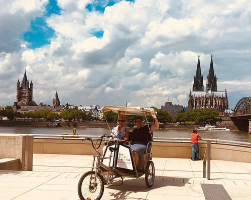 From the Other side of the River we have the best view of Cologne.