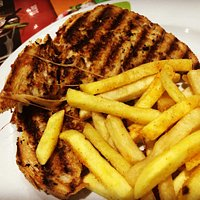 Sandwich Poulet, Frites