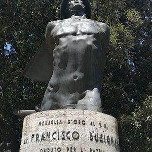 Mezzo Busto in Bronzo di Francisco Busignani