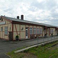 Der Frz. Militärbahnhof