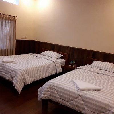 Air conditioned  rooms with attached bath rooms for your comfortable stay