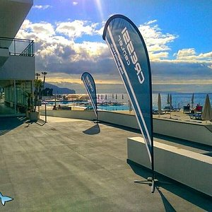 Great view from the centre on a beautiful day in Madeira!  The way we generally start the day...