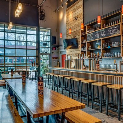 The Whistler brewing Co Taphouse!