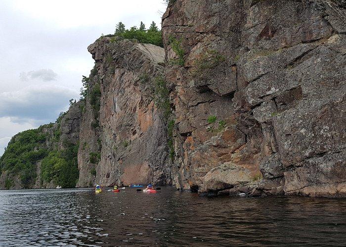 Massive Cliffs on Mazinaw Lake