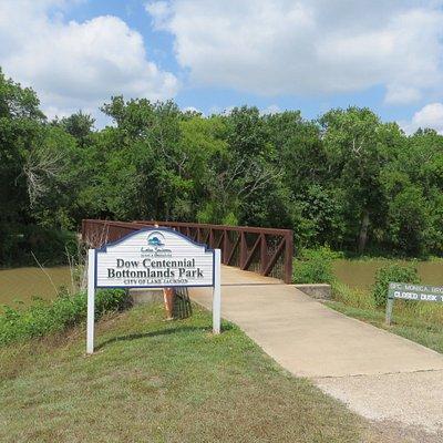 Dow Centennial Bottomlands Park, Lake Jackson, TX