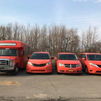 Orange Taxi Cab BuffaloAirport to Niagara Falls Low-Price every day