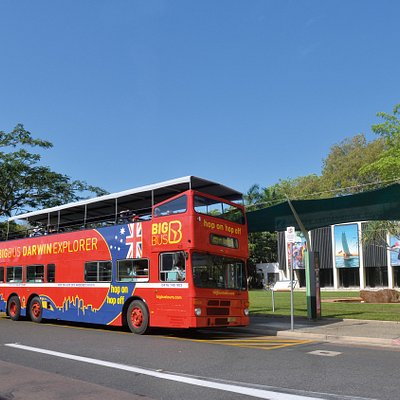 Big Bus Darwin at Stop 1