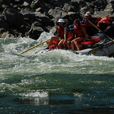 Salmon River whitewater, Salmon River Canyons.  Hells Canyon Raft