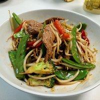 Beef Black Peper saus (wokgerecht 1 Pers.)