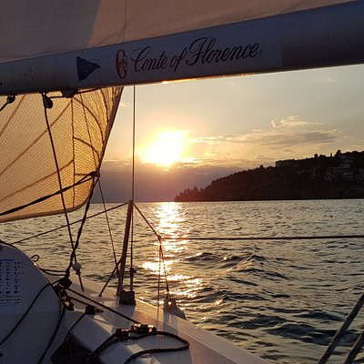Sunset sailing in Ohrid !!! An unforgettable experience !!!