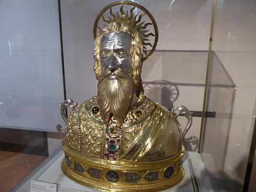 Reliquary of St. Andrew.