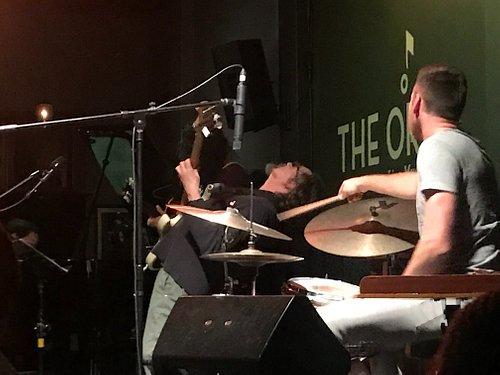 Jazz band at The Orbit, Johannesburg, So. Africa