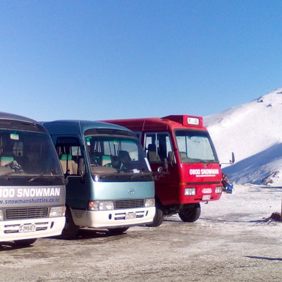 Snowman Shuttles at Mt Hutt Ski Area