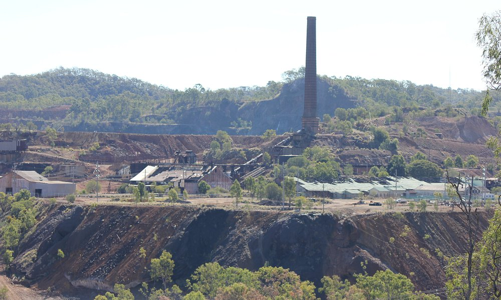 View of the Old mine