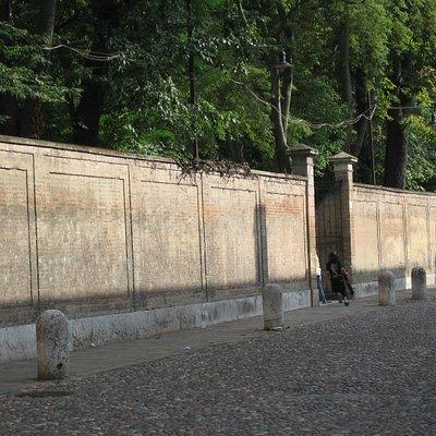 Il parco del Giardino dei Finzi Contini a Ferrara nel film di Vittorio de Sica